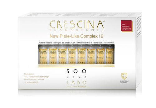 Crescina Transdermic New Plate-Like Complex 12 - Donna 200 - 20 Fiale
